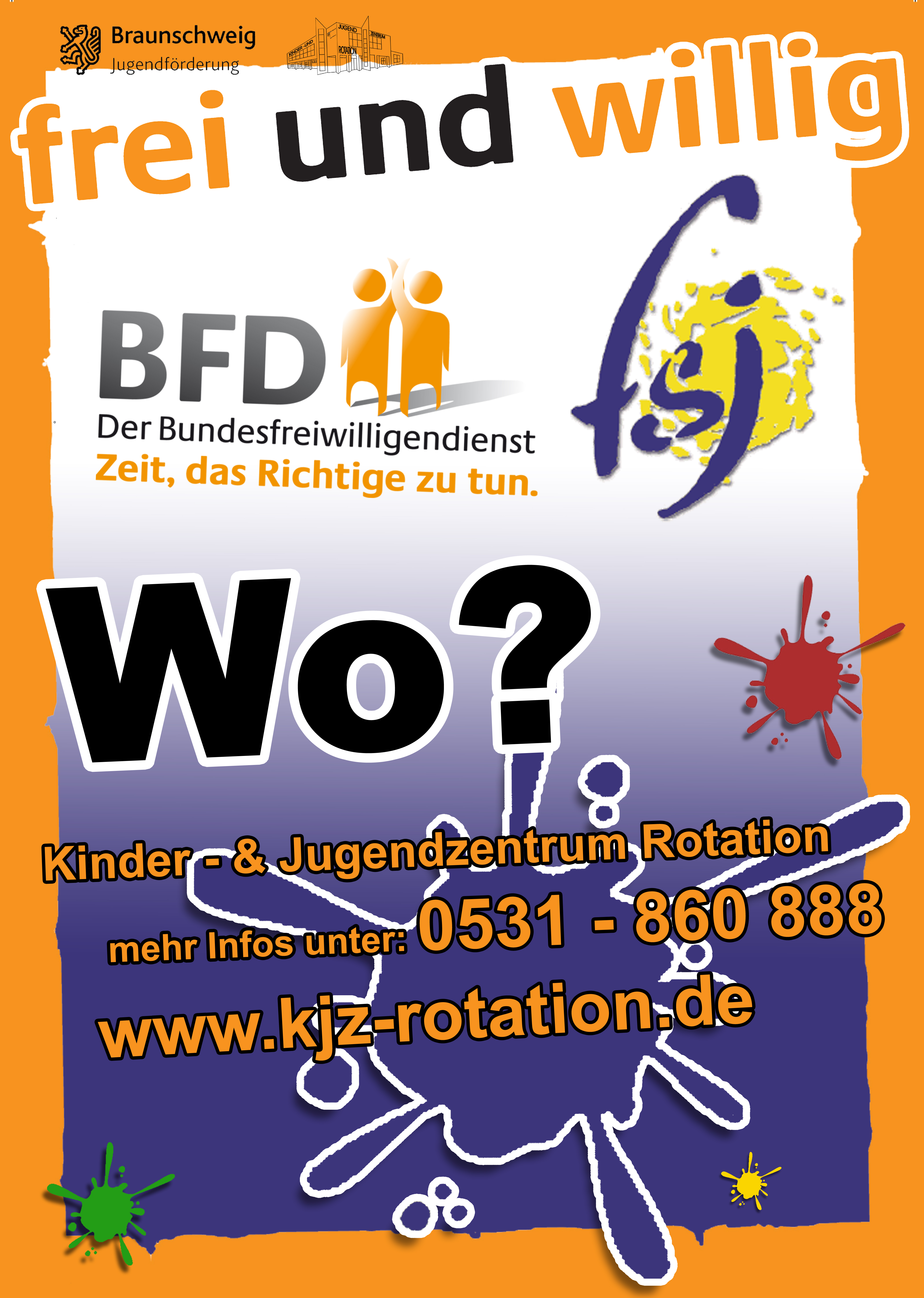 jobs kinder und jugendzentrum rotation braunschweig. Black Bedroom Furniture Sets. Home Design Ideas